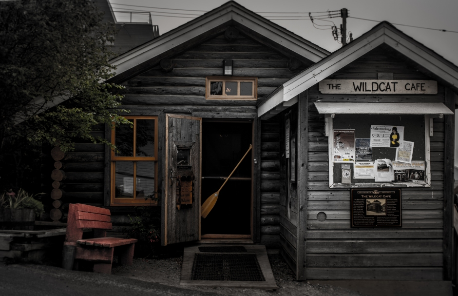 Infamous Wildcat Cafe, Oldtown Yellowknife