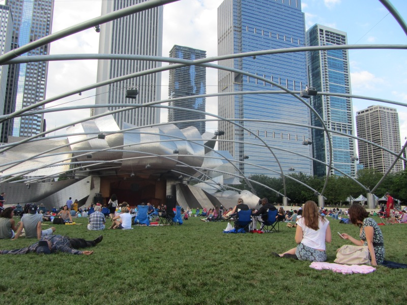 Catch the captivating Grant Park Symphony Orchestra and Chorus, free on weekends