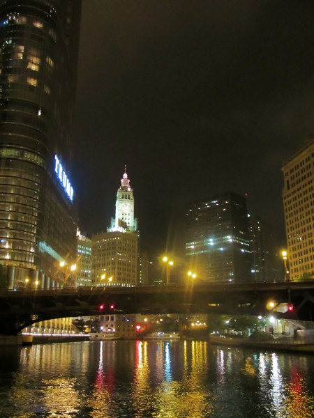 Walk the riverfront at night for beautiful views - and zero crowds