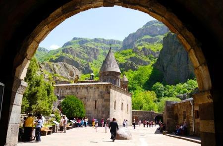 Geghard Monastery, Kotayk, Armenia
