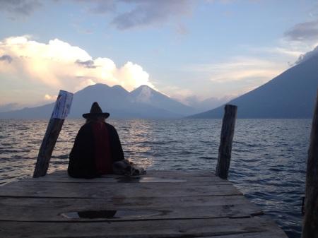 Lago Atitlan, Guatemala. Lake Atitlan