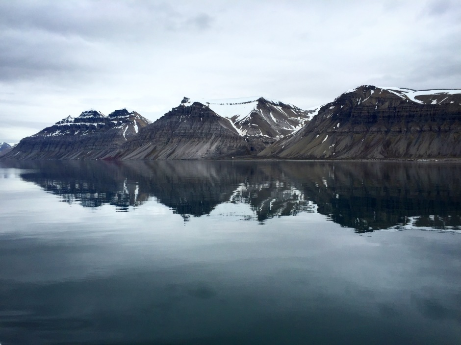 Mountains of Svalbard