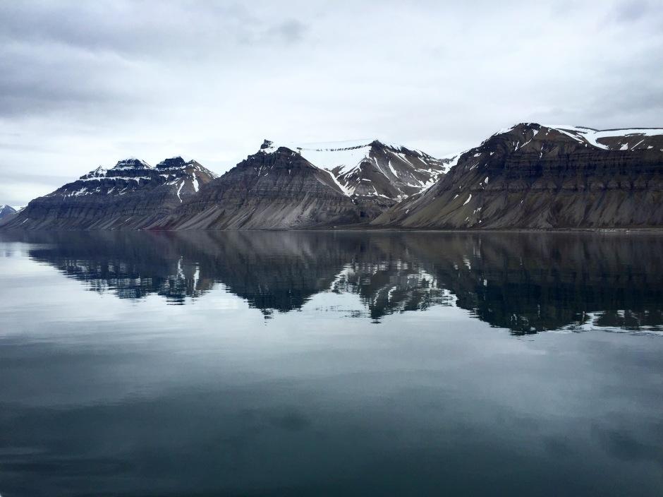 Mountains of Svalbard