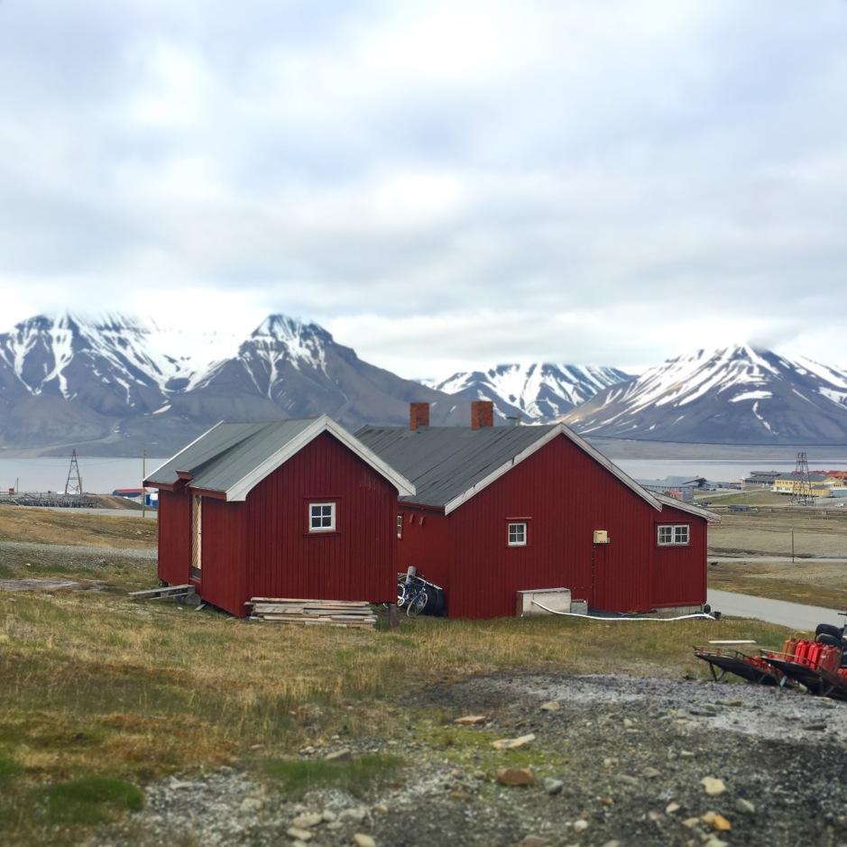 Clapboard House Svalbard