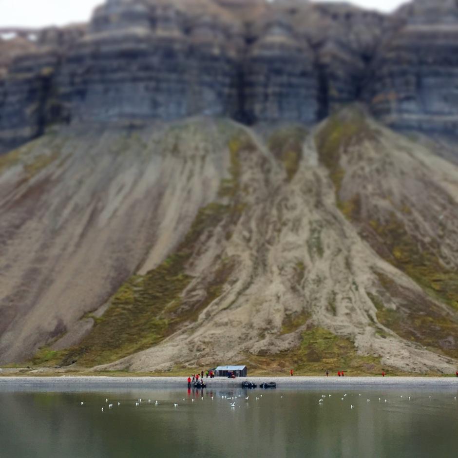 Svalbard Cliff face
